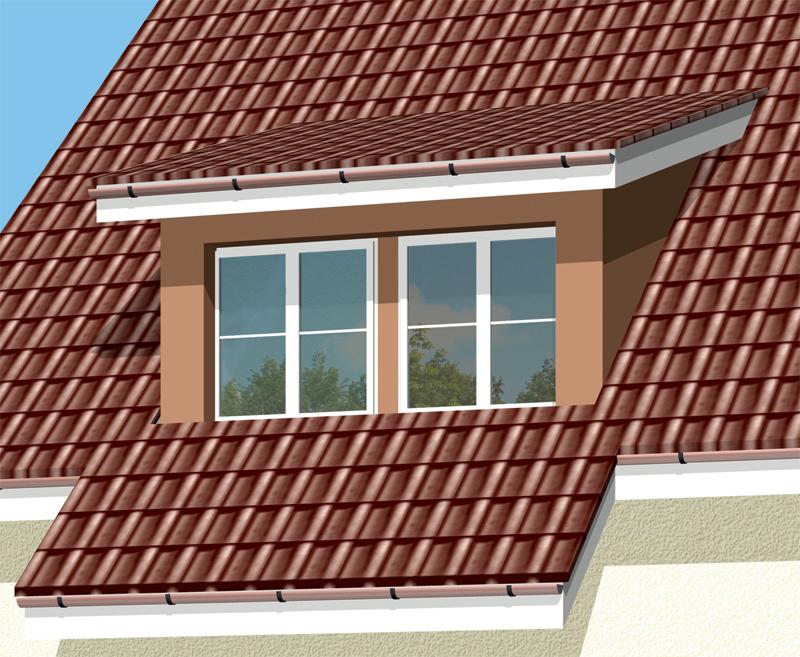 Трехскатные крыши фото