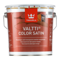TIKKURILA Valtti Color Satin антисептик Тиккурила Валтти Колор Сатин (полумат) 2,7л