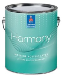 Sherwin Williams Harmony Acrylic Latex латексная краска 3.8л
