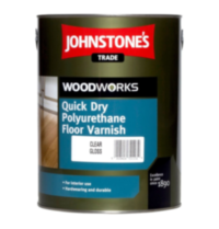 Johnstones Quick Dry Floor varnish Gloss лак для пола 5л