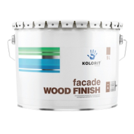 KOLORIT Facade Wood Finish тонируемый антисептик 9л